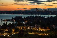 Seattle Skyline & Lake Washington from Bellevue