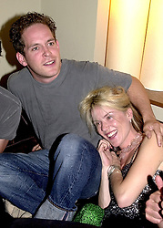 Actor TOM HOLLANDER and MRS DAPHNE NIARCHOS<br />  at a party in London on 14th June 2000.OFF 17<br /> © Desmond O'Neill Features:- 020 8971 9600<br />    10 Victoria Mews, London.  SW18 3PY <br /> www.donfeatures.com   photos@donfeatures.com<br /> MINIMUM REPRODUCTION FEE AS AGREED.<br /> PHOTOGRAPH BY DOMINIC O'NEILL