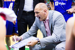 Jaksa Vulic, headcoach of KK Helios Suns during basketball match between KK Zlatorog and KK Helios Suns in 1st match of Nova KBM Slovenian Champions League Final 2015/16 on May 29, 2016  in Dvorana Zlatorog, Lasko, Slovenia.  Photo by Ziga Zupan / Sportida