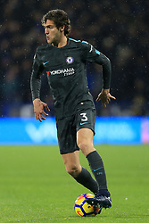 12th December 2017 - Premier League - Huddersfield Town v Chelsea - Marcos Alonso of Chelsea - Photo: Simon Stacpoole / Offside.