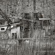 Ruins, Glen Burn Colliery, Shamokin, PA