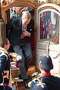 Prinsjesdag 2014 - Aankomst  Gouden Koets op het Binnenhof. /// Parlement Day 2014 - Arrivals Golden Carriage at the Binnenhof.<br /> <br /> Op de foto / On the photo: