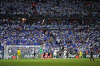 Supporters Auxerre - 30.05.2015 - Auxerre / Paris Saint Germain - Finale Coupe de France<br />Photo : Andre Ferreira / Icon Sport