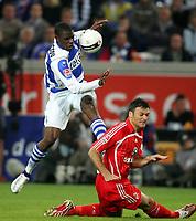 Fotball<br /> 2 Bundesliga Tyskland<br /> 07.05.2007<br /> Foto: Witters/Digitalsport<br /> NORWAY ONLY<br /> <br /> v.l. Mohamadou Idrissou, Fehmi Alpay Koeln<br /> <br /> 2.Bundesliga MSV Duisburg - 1.FC Köln