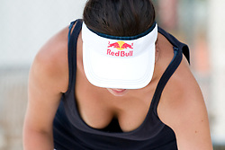 Red Bull girl at A1 Beach Volleyball Grand Slam tournament of Swatch FIVB World Tour 2010, on July 28, 2010 in Klagenfurt, Austria. (Photo by Matic Klansek Velej / Sportida)
