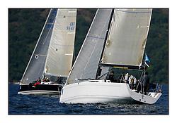 The Brewin Dolphin Scottish Series, Tarbert Loch Fyne...GBR51R  Argie Bargie CCC King 40 Allan Hogg.