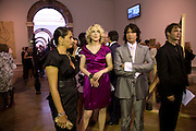 TRACEY EMIN, LAUREN LAVERNE AND LAURENCE LLEWELLEN-BOWEN, 240th Royal Academy Summer Exhibition fundraising private view. Piccadilly. London.4 June 2008.  *** Local Caption *** -DO NOT ARCHIVE-© Copyright Photograph by Dafydd Jones. 248 Clapham Rd. London SW9 0PZ. Tel 0207 820 0771. www.dafjones.com.