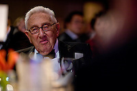 Former Secretary of State Henry Kissinger at the 2009 International Emmy Awards Gala hosted by the International Academy of Television Arts & Sciences in New York.  ***EXCLUSIVE***