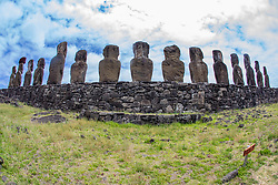 Moai, Ahu Tongariki