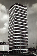 Liberty hall, Dublin in the 1960's.<br /> Picture by Harry MacMonagle<br /> Photo macmonagle archive