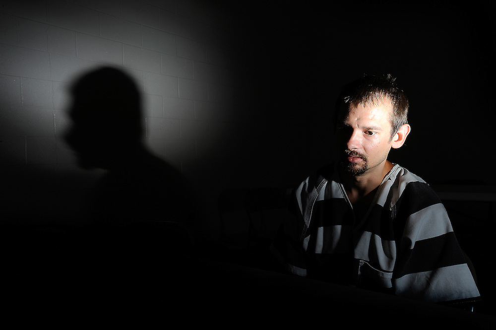 An inmate discusses his life of crime.