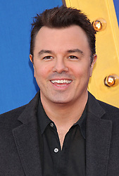 Seth MacFarlane, Universal Pictures film premiere for Sing at LA Live (Los Angeles, CA.)