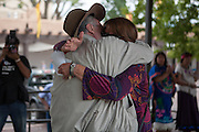 Caravan for Peace: Peace and Poetry on the Plaza in Santa Fe New Mexico on Monday, Aug 20th, 2012.