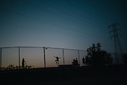 Beach Park Skate Park in Bakersfield.