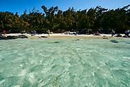 Mauiritus Island. Sea landscape at Ile aux Cerfs (Deer Island)