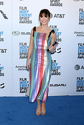 February 23, 2019 - Santa Monica, CA, USA - LOS ANGELES - FEB 23:  Katie Aselton at the 2019 Film Independent Spirit Awards on the Beach on February 23, 2019 in Santa Monica, CA (Credit Image: © Kay Blake/ZUMA Wire)