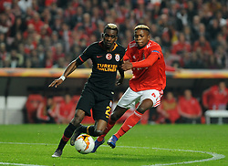 February 22, 2019 - Na - Lisbon, 21/02/2019 - SL Benfica received Galatasaray SK tonight at Est√°dio da Luz in the second qualifying round of the Europa League 2018/2019. Florentino Luis  (Credit Image: © Atlantico Press via ZUMA Wire)