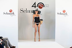 15.10.2015, Circulo de Bellas Artes, Madrid, ESP, Senmark Jubiläums Fashion Show, im Bild ein Model // during the Senmark 40th. Aniversary Fashion Show at the Circulo de Bellas Artes in Madrid, Spain on 2015/10/15. EXPA Pictures © 2015, PhotoCredit: EXPA/ Alterphotos/ BorjaB.hojas<br /> <br /> *****ATTENTION - OUT of ESP, SUI*****
