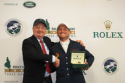 Jung Michael, (GER), President and CEO of Rolex Watches USA: Stewert Wicht Rolex Kentucky Three Day Event CCI4* <br /> Lexington 2015<br /> © Hippo Foto - Libby Law<br /> 26/04/15