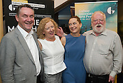 18/07/2015 repro free. John Crumlish CEO GAlway International Arts Festival with Director Joan Sheehy ,  Cathy Belton and Frank MccGuinness  at the World Premiere of The Match Box  a The Galway International Arts Festival at the Town Hall Theatre, Galway .  <br /> Photo:Andrew Downes:XPOSURE