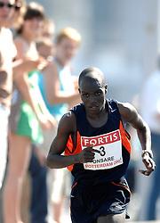 15-04-2007 ATLETIEK: FORTIS MARATHON: ROTTERDAM<br /> In Rotterdam werd zondag de 27e editie van de Marathon gehouden. De marathon werd rond de klok van 2 stilgelegd wegens de hitte en het grote aantal uitvallers / Wilson Onsare KEN had het zwaar<br /> ©2007-WWW.FOTOHOOGENDOORN.NL