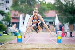 Neja Filipic competes during day 2 of Slovenian Athletics Cup 2019, on June 16, 2019 in Celje, Slovenia. Photo by Peter Kastelic / Sportida