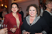 CATHERINE GAZZOLI; CHEY GARLAND, The 2012 Veuve Clicquot Business Woman of the Year Award .  Celebrating women's excellence in business.  Claridge's, Brook Street, London, 18 April 2012