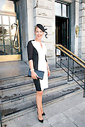 Emer Rooney, Renmore runner up at the Hotel Meyrick Most Stylish Lady event on ladies day of The Galway Races. Photo:Andrew Downes