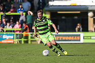Forest Green Rovers Scott Laird(3) during the EFL Sky Bet League 2 match between Forest Green Rovers and Chesterfield at the New Lawn, Forest Green, United Kingdom on 21 April 2018. Picture by Shane Healey.