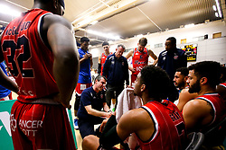 Bristol Flyers huddle - Photo mandatory by-line: Robbie Stephenson/JMP - 29/03/2019 - BASKETBALL - English Institute of Sport - Sheffield, England - Sheffield Sharks v Bristol Flyers - British Basketball League Championship