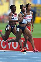 ATHLETICS - IAAF WORLD CHAMPIONSHIPS 2011 - DAEGU (KOR) - DAY 2 - 28/08/2011 - WOMEN 100M - CARMELITA JETER (USA) - PHOTO : FRANCK FAUGERE / KMSP / DPPI