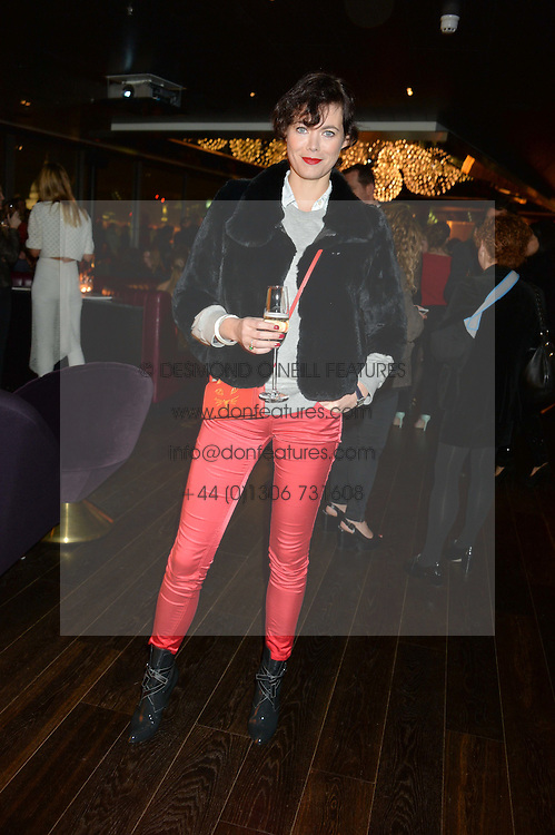 JASMINE GUINNESS at the Launch Of Osman Yousefzada's 'The Collective' 4th edition with special guest collaborator Poppy Delevingne held in the Rumpus Room at The Mondrian Hotel, 19 Upper Ground, London SE1 on 24th November 2014, sponsored by Storm models and Beluga vodka.