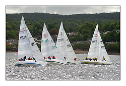 Yachting- The second start of the Bell Lawrie Scottish series 2002 at Inverkip racing to Tarbert Loch Fyne where racing continues over the weekend.<br /><br />Pepsi IRL633, Pheonix K4382, The White Tub K4294 and Odyssey K9156Y Line up for the sigma 33 start<br /><br />Pics Marc Turner / PFM