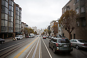 De Amerikaanse stad San Francisco aan de westkust is een van de grootste steden in Amerika en kenmerkt zich door de steile heuvels in de stad.<br /> <br /> The US city of San Francisco on the west coast is one of the largest cities in America and is characterized by the steep hills in the city.