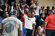 NORTH AUGUSTA, SC. July 10, 2019. Fans excited at Nike Peach Jam in North Augusta, SC. <br /> NOTE TO USER: Mandatory Copyright Notice: Photo by Jon Lopez / Nike