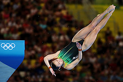 Olympic Games London 2012, 09.08.2012 .Womens 10m Platform event during the Diving on Day 13 of the London 2012 Olympic Games .Melissa WU (AUS).© pixathlon