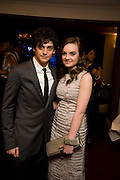 ANAURIN BARNARD; CHARLOTTE WAKEFIELD, The Laurence Olivier Awards, The Grosvenor House Hotel. Park Lane. London. 8 March 2009 *** Local Caption *** -DO NOT ARCHIVE -Copyright Photograph by Dafydd Jones. 248 Clapham Rd. London SW9 0PZ. Tel 0207 820 0771. www.dafjones.com<br /> ANAURIN BARNARD; CHARLOTTE WAKEFIELD, The Laurence Olivier Awards, The Grosvenor House Hotel. Park Lane. London. 8 March 2009