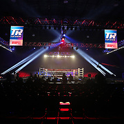 KISSIMMEE, FL - MAY 25: A general view of the ring prior to the Masayuki Ito v Jamel Herring WBO World Title fight at Osceola Heritage Park on May 25, 2019 in Kissimmee, Florida. (Photo by Alex Menendez/Getty Images) *** Local Caption *** Masayuki Ito; Jamel Herring