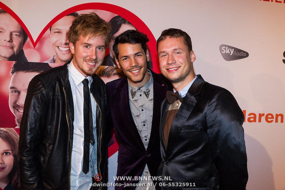 NLD/Scheveningen/20130909 -  Filmpremiere Smoorverliefd, Handsome Poets