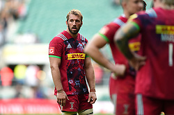 Chris Robshaw of Harlequins looks dejected after the match - Mandatory byline: Patrick Khachfe/JMP - 07966 386802 - 02/09/2017 - RUGBY UNION - Twickenham Stadium - London, England - London Irish v Harlequins - Aviva Premiership