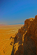 Masada and the Dead Sea<br /> Photo by Dennis Brack