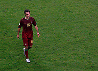 Photo: Glyn Thomas.<br />Portugal v France. Semi Final, FIFA World Cup 2006. 05/07/2006.<br /> Portugal's Ricardo Carvalho is dejected.