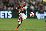 Sofiane Feghouli of West Ham United taking a free kick. EFL Cup, 3rd round match, West Ham Utd v Accrington Stanley at the London Stadium, Queen Elizabeth Olympic Park in London on Wednesday 21st September 2016.<br /> pic by John Patrick Fletcher, Andrew Orchard sports photography.