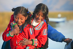 Young Uros Girls
