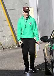 Justin Bieber is seen leaving a dance studio in Los Angeles. 09 Jan 2020 Pictured: Justin Bieber. Photo credit: Rachpoot/MEGA TheMegaAgency.com +1 888 505 6342
