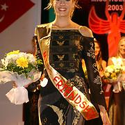 Miss Nederland 2003 reis Turkije, Miss Zeeland, Sanne de Regt