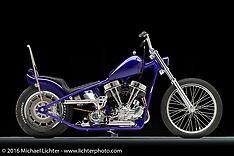 Bill Dodge 1950 Purple Panhead