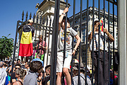 Brussels, Belgium, 21 july 2013, Belgian national day and crowning of King Filip. PHOTO © Christophe Vander Eecken