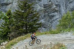 13-09-2017 FRA: BvdGF Tour du Mont Blanc day 4, Trient<br /> Van Chamonix naar Trient. <br /> Machiel vasa