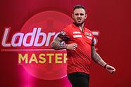 PDC Darts Ladbrokes Masters 2021 290121